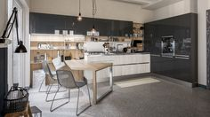 Cucine colorate. Come un quadro contemporaneo | Kitchens