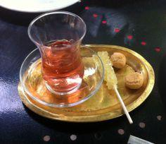 Borage Tea with Saffron Nabat, Lemon Mint Sekanjabin, Persian ice cream & Loads of Charm   A Cafe in Tehran   Fig & Quince