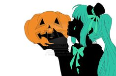Miku's Halloween by Mio299.deviantart.com on @deviantART