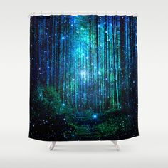 Buy Shower Curtains featuring magical path by haroulita. Made from easy care polyester our designer shower curtains are printed in the USA and feature a 12 button-hole top for simple hanging.