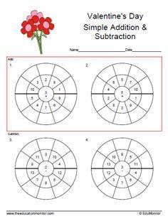 Time target circle math worksheet  Fifth Grade Worksheets