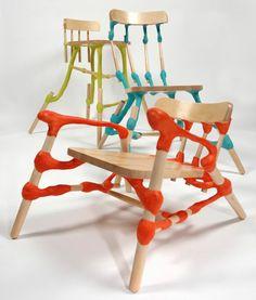 Hunn Wai: Wood X Plastic Shelf