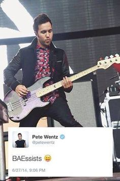 Pete... I just... Oh Pete.