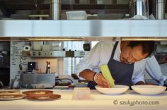 Sang Hoon Degeimbre, the chef of L'air Du Temps, Belgium. #finedining #michelinstar #culinary