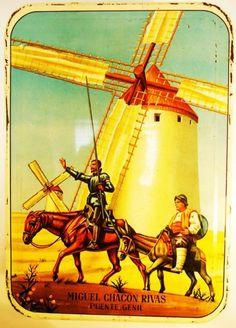 Don Quixote Tin Box. Spanish.1962.63 ($73.45) - Svpply