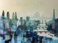 CITY TITANS of LONDON by Colin Ruffell