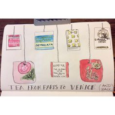 """""""Some more #travelsketching & a tribute to #tea #sketchbookskool #sketchbook #art4all #drawing #sketching #draweveryday"""""""
