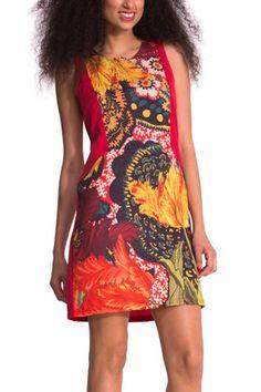 Desigual RUBI dress. $154. Designed by Christian Lacroix. angelvancouver.com