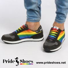 Rainbow Pride Shoes . Made in Spain.