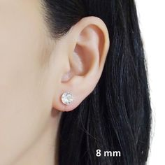 Details◆Swarovski Crystal Color:Clear◆Size of Crystals:① 8 mm ( 1/3 inches) ②6 mm ( 1/4 inches) ③ 4 mm ( 1/6 inches )◆Weight: 1 g (0.035 oz) Don't you want to wear minimalist style clip on earrings for school and office every day? Here is sparkly 8 mm and 6 mm Clear Swarovski crystal invisible clip on earrings. If Bridal Earrings, Crystal Earrings, Crystal Rhinestone, Clip On Earrings, Swarovski Crystals, Stud Earrings, Pierced Earrings, Orange Crystals, Vintage Roses