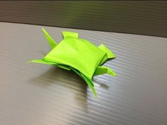 Daily Origami: 145 - Turtle