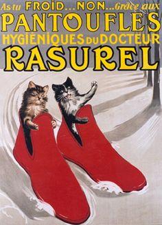 Pantoufles Hygiéniques du Docteur Rasurel  c.1910