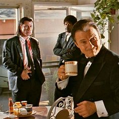 *THE WOLF* Harvey Keitel Signed Pulp Fiction Photo EXACT PROOF Reservoir  Dogs