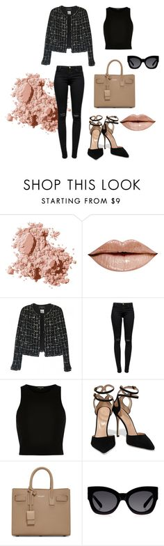"""""""10202015"""" by abigailkim6 on Polyvore featuring Bobbi Brown Cosmetics, Chanel, J Brand, River Island, Sergio Rossi, Yves Saint Laurent, Karen Walker, women's clothing, women and female"""