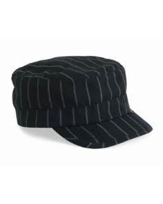 hot sale online 0f626 4899c Peter Grimm - Sister Cadet Black White Pinstripe Cap Peter Grimm.  10.45