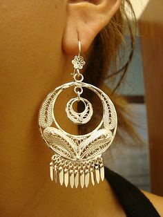 Tango Filigree Earrings - Mexican Silver Store