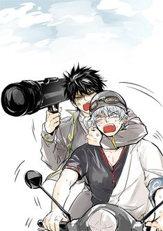 Hijikata Toushirou & Sakata Gintoki | Gintama