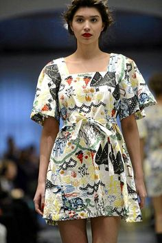 Top Finnish design house Ivana Helsinki launches new Spring 2015 collection, inspired by Moomin artwork Finland Crazy Outfits, Unique Outfits, Vintage Outfits, Moomin Mugs, Tove Jansson, Marimekko, Helsinki, Dress Up, My Style