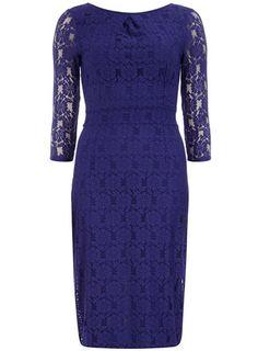 Tall purple 3/4 lace dress  $59.00