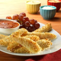 Parmesan Swai Fish Fingers - Great for the kids. Swai is mild, so it's a great alternative to chicken fingers. Parmesan-panko bread crumbs make them crispy. Dip 'em in zesty marinara sauce.