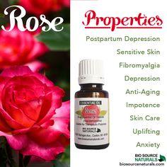 Rose essential oils