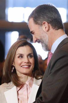 Felipe VI vuelve a protagonizar con la reina Letizia el acto de apertura en el recinto ferial Ifema de Madrid. 18.01.2017