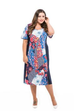 vzorované šaty pre moletky Spring Summer, Summer Dresses, Casual, Fashion, Moda, Summer Sundresses, Fashion Styles, Fashion Illustrations, Summer Clothing