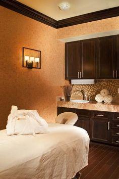 Spa treatment room at Elevation Hotel & Spa.