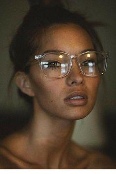 32bed801886f5 Frame Me Glasses Mulheres De Óculos, Óculos Quadrado, Oculos De Grau  Transparente, Meninas
