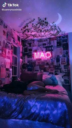 Indie Room Decor, Cute Bedroom Decor, Room Design Bedroom, Teen Room Decor, Aesthetic Room Decor, Room Ideas Bedroom, Bedroom Bed, Aesthetic Girl, Bedroom Inspo