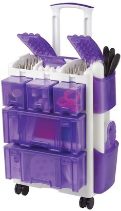 me please!!! Amazon.com: Wilton Decorate Smart Ultimate Rolling Tool Caddy: Kitchen & Dining