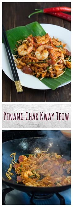 Penang Char Kway Teow - possibly the world's best street food :) Click to learn more about it!