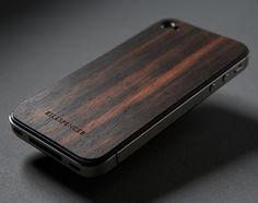 Fancy - KILLSPENCER Real Wood Veils - For Apple iPhone 4