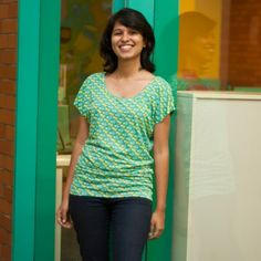 Buy KABUTAR WOMEN EMRALD TOP from Chumbak. To buy this visit http://www.chumbak.com/apparel/tshirts-tops.html