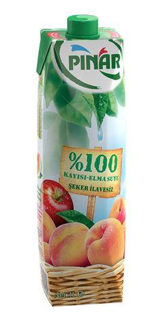 Pınar %100 Kayısı-Elma Suyu