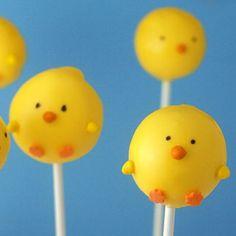 Peep Pops! Cake pops :)