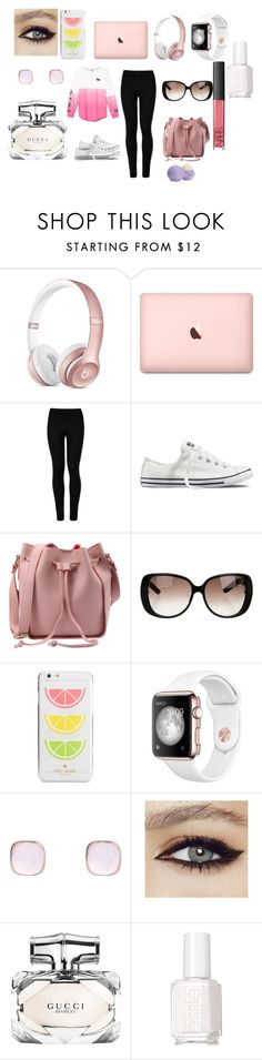"""""""Road Trip"""" by fashionistagirl9898 on Polyvore featuring Supra, Victoria's Secret, Wolford, Converse, Gucci, Kate Spade, Latelita, Essie and NARS Cosmetics"""