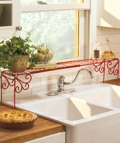 Expandable Over-the-Sink Shelf|The Lakeside Collection $7.95