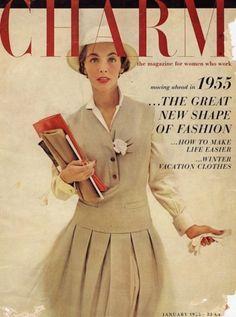 Charm magazine, 1955