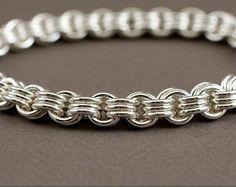 Spiral Gold Filled Chain Bracelet 12g Jens Pind by rainestudios
