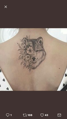 This but a fox and peonies