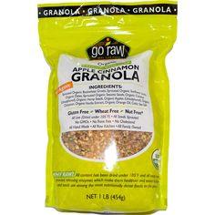 Go Raw, Organic Granola, Apple Cinnamon, 1 lb (454 g) - iHerb.com