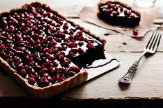 Chocolate PomegranateTart