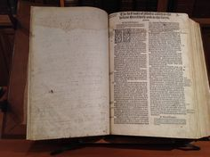 1539 Great Bible - Genesis Title