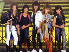 "Bon Jovi is an American rock band whose song ""Wanted Dead Or Alive"" appeared in the episode ""El..."