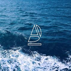 Okay check out my new logo. The Sailboat in deep blue ocean…