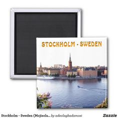 Stockholm - Sweden (Mojisola A Gbadamosi) Magnet  Up to 60% Off Cards, Stickers, Ornaments & More    |    20% Off Sitewide    |    Use Code: SUMMERTIME60