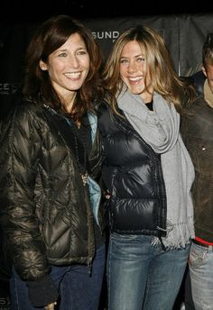 At the 2006 Sundance Film Festival, Jennifer Aniston posed with costar Catherine Keener for the premiere of Friends With Money.