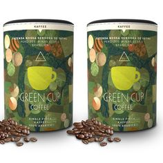 Organic Coffee Set of 2, 18,90€, by Green Cup Coffee !!