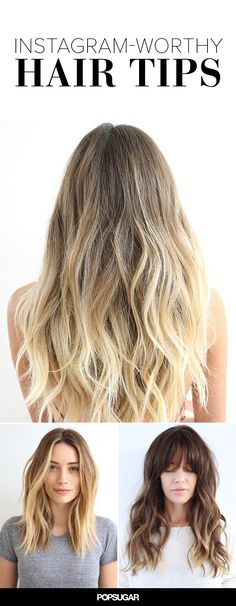 Great tips for great hair Love Hair, Great Hair, Good Hair Day, Gorgeous Hair, Undone Look, Hair Dos, Ombre Hair, Pretty Hairstyles, Hair Hacks